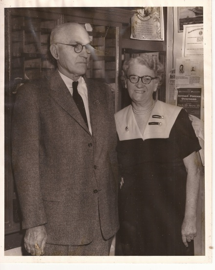 Roland Parks and Beulah Cox Parks